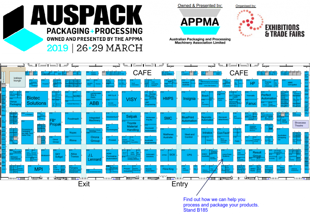 AUSPACK 2019 Floor Plan